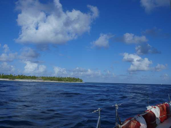 Arrival at Makemo Atoll